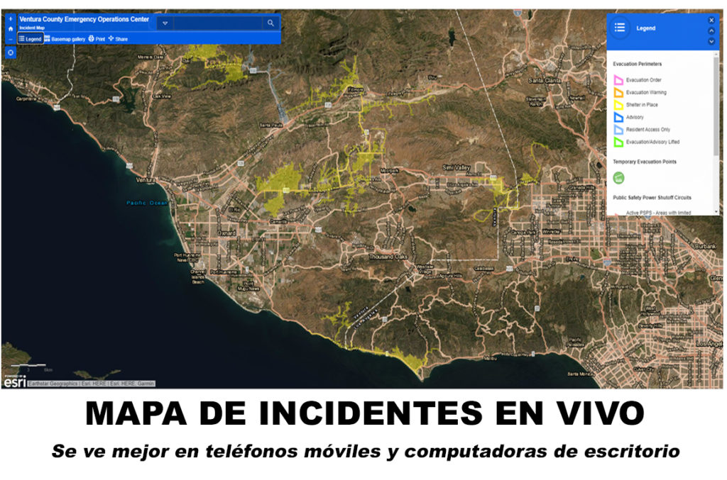 Mapa de Incidentes en Vivo